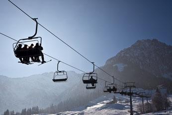 Familien Skigebiet Walchsee Zahmer Kaiser (Durchholzen)
