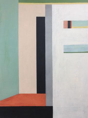 Farbräume 10, Acryl, 80 x 60 cm, 2019
