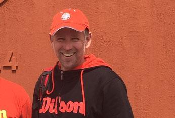 Tennislehrer Kai-Uwe Gerber vom Tennisclub Basel-Münchenstein