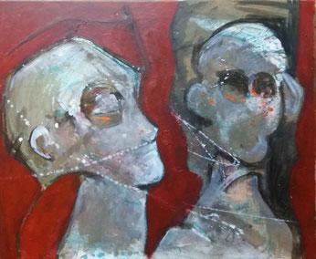 acrylique sur toile - 50x60