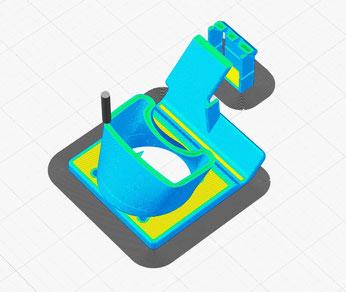 3D-Druck Slicing Prozess