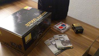 Nikon D7000, Fotoequipment, Kamera, Video, Zubehör, Objektiv, Starter-Kit, Lowpro