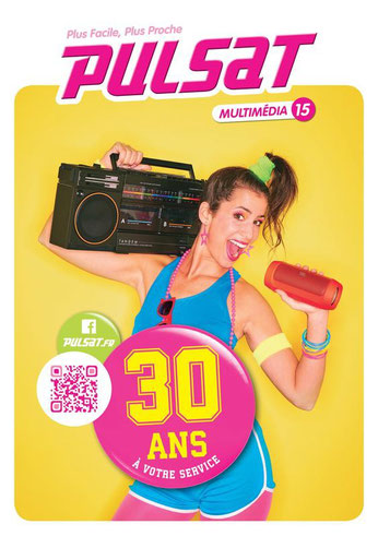 Pulsat 30 ans - Photo : Laurent MOYNAT ; Hair & Makeup : Carole Petrigno