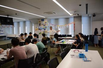 師岡教授による本学のオリパラ取り組み紹介