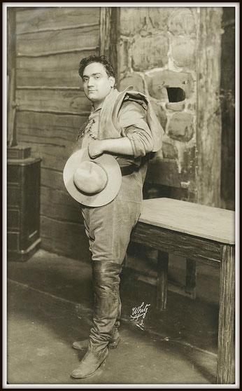 Giacomo Puccini LA FANCIULLA DEL WEST (Dick Johnson)  - Metropolitan N.Y. 10.12.1910 (prima assoluta)