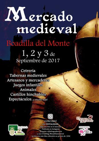 Programa del Mercado Medieval de Boadilla del Monte