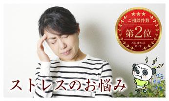 ストレス症状を改善する漢方薬