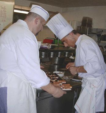 chef cuisinier truffe