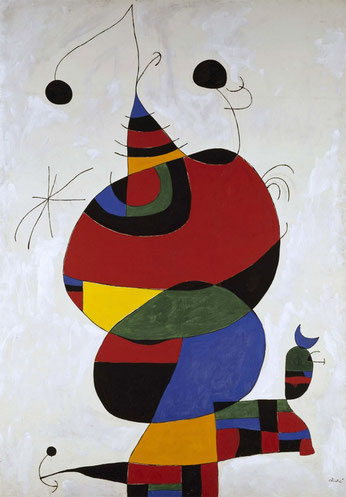 Miro est maintenant abordable avec ces magnifiques tapisseries tissées sur métier Jacquard