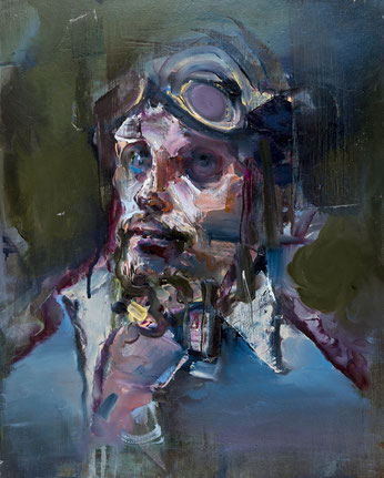 vet 1, 50 x 40 cm, oil on linen, 2016