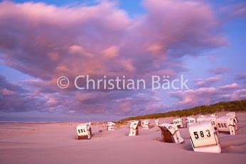 Strand bei Sturm, Spiekeroog