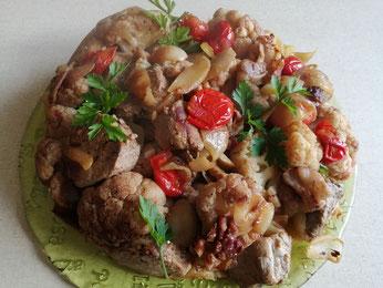 Gestürzte Kafiol-Filet-Pie