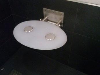 asiento abatible de ducha