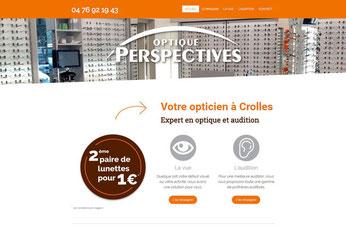 Création site internet opticien