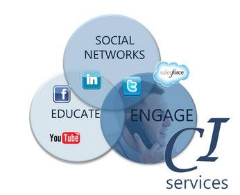 Pour réussir sa prospection il faut savoir utiliser les réseaux sociaux, le social selling et construire une stratégie de marketing du contenu efficace