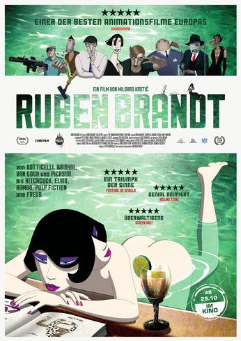 Ruben Brandt Collector Plakat