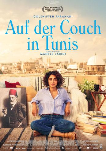 Auf der Couch in Tunis Plakat