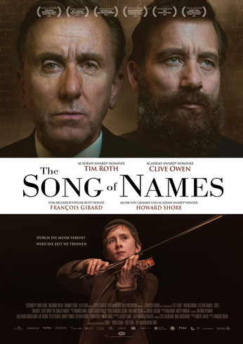 The Song Of Names Plakat