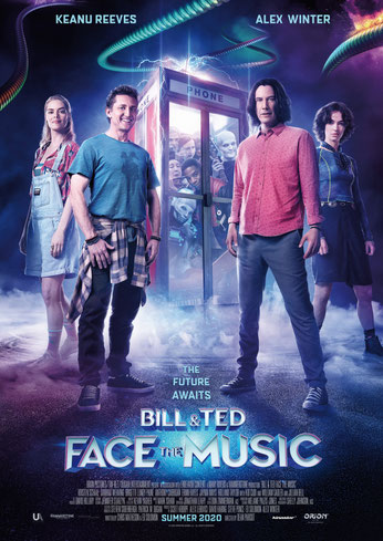 Bill & Ted Face The Music Plakat