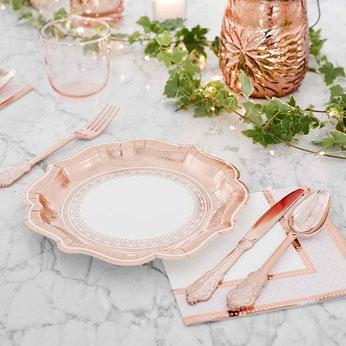 theme-bapteme-fille-rose-gold-decoration