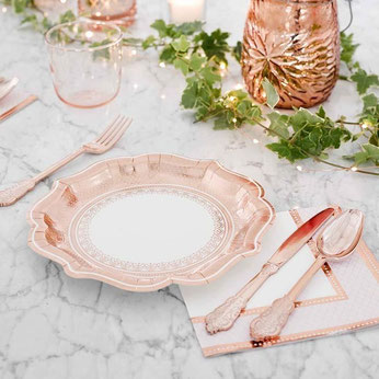 couverts-baby-shower-couverts-rose-gold
