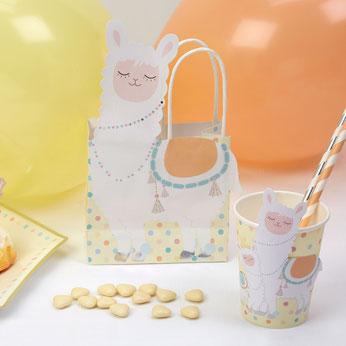 baby-shower-lama-pastel-sacs-cadeaux-invites