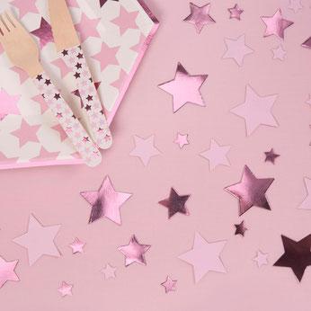 confettis-de-table-etoiles-roses-decoration-table-fille-baby-shower-bapteme-anniversaire-evjf