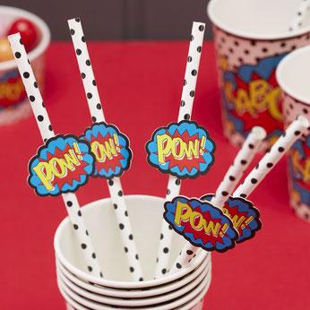 anniversaire-theme-super-heros-pailles-super-heros