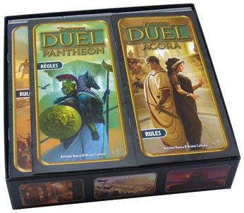 folded space insert organizer 7 wonders duel agora pantheon