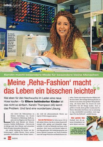 Rehafashion in der Zeitschrift LISA