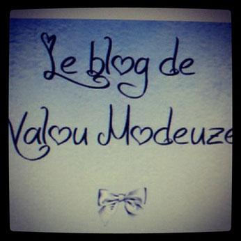 Le Blog de Valou Modeuze.