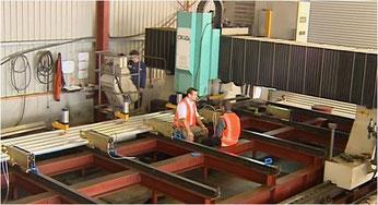 FSW-Maschine bei Donovan Group, Whangarei, Neuseeland