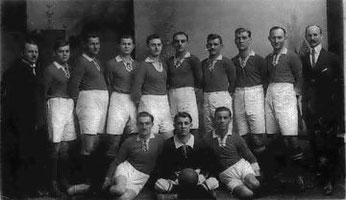 1. Mannschaft im Gründungsjahr 1909