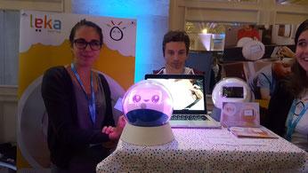 CES Unveiled Paris -  Leka Roboto pour les enfants autistes