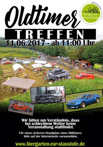 1. Oldtimertreffen am 11.06.2016 ab 11:00 Uhr im Biergarten zur Staustufe - Beckingen