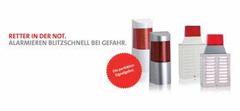 Telenot Optisch akustischer Signalgeber, Sirene,  presented by SafeTech
