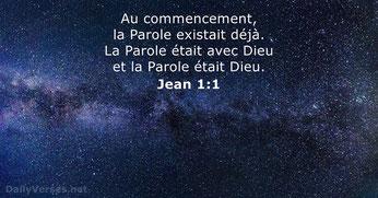 Le verset de Jean 1:1 doit être en mis en parallèle avec l'ensemble des Saintes Écritures. Notre conception de Dieu et de Jésus en dépendent.
