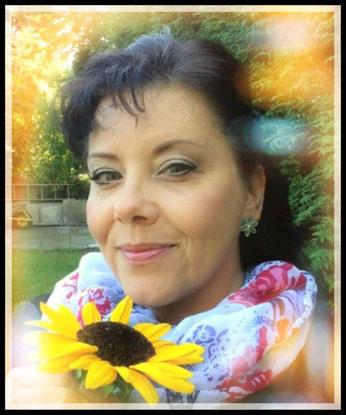 ~ Bild: Gabi Ahrens (Sonnenblume, bunt, kalt) ~