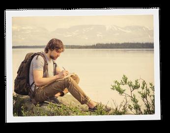 A portée de mots, récit de vie et de voyage