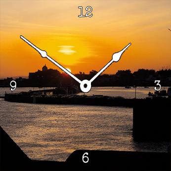 """Horloge murale """"MDF"""" 300 x 300 mm"""