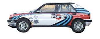 lancia delta 16v integrale grafica completa sponsor martini pubblimais