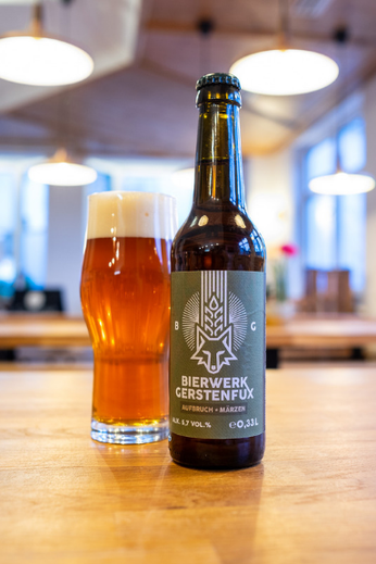 """Zu den Craft Beer Sorten gehört das Märzen """"Aufbruch""""."""