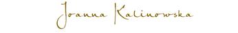 Unterschrift von Joanna Kalinowska