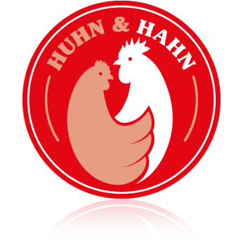 huhn-hahn.de - das Logo Hahn