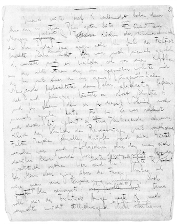 Handschrift Franz Kafka (1883-1924), Literaturarchiv Marbach gemeinfrei, https://commons.wikimedia.org/w/index.php?curid=37043406