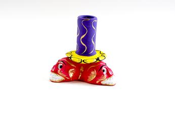 Kerzenständer aus Keramik