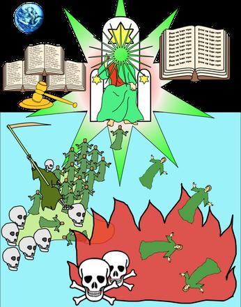A la fin du chapitre 20, nous voyons les ressuscités debout devant le trône pour être jugés selon leurs œuvres. Ceux qui ne sont pas inscrits dans le livre de vie sont jetés dans l'étang de feu. Cela soulève des questions importantes !