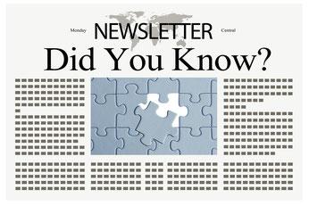 newsletter, GDPR