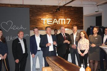 Team 7 Eröffnungsfeier am 24.11.2016, Foto: media team 7 GmbH
