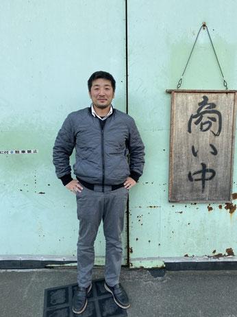 熊谷隆政社長の写真